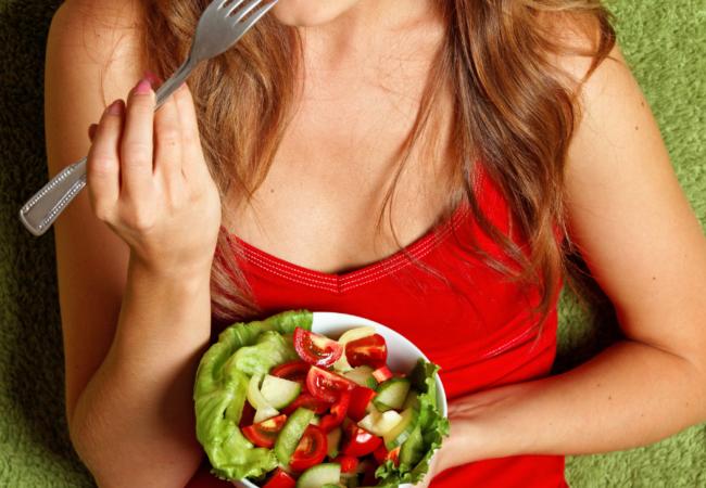 Hujšanje s solato. Da, a solata ni nujno vedno dietni obrok!