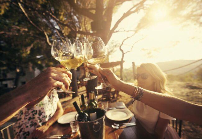 Dobra večerja in kozarec vina, belo ali rdeče? V bistvu je zelo preprosto
