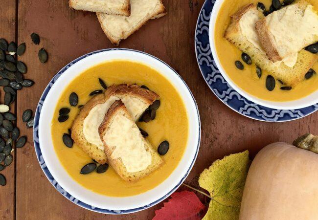 Bučna juha vedno prija, recept