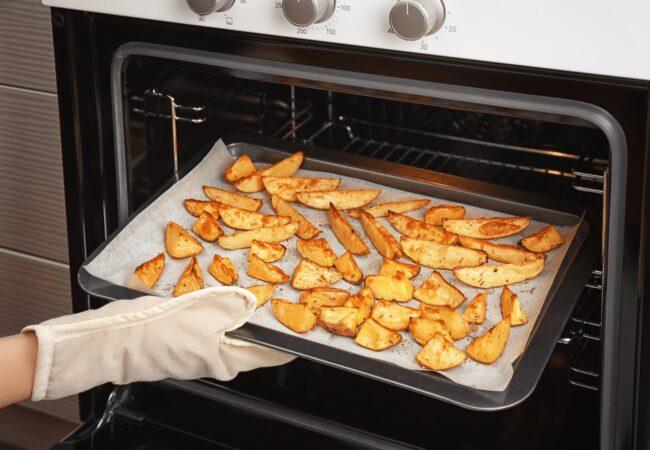 Skrivnost hrustljavo pečenega krompirja