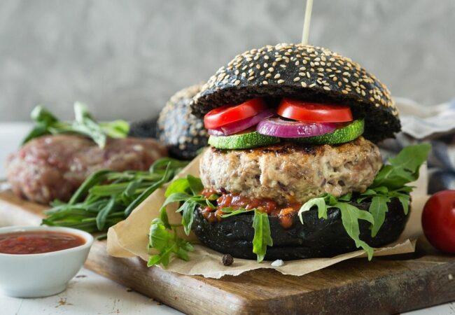 Ideja za lahko kosilo ali večerjo, zelenjavni burger
